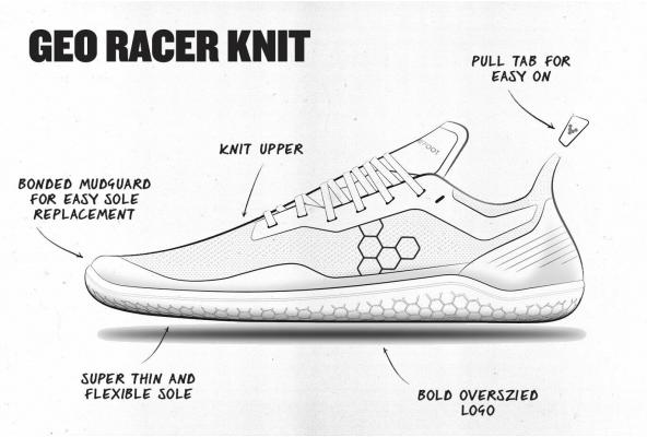 Bringing the Geo Racer Knit to Life