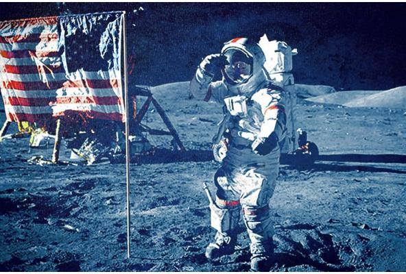 ONE SMALL STEP FOR MAN. ONE GIANT 'MISSTEP' FOR MANKIND'