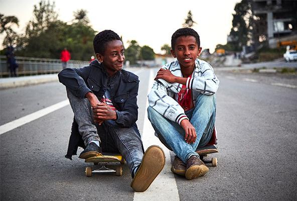 ETHIOPIA SKATE: A JOURNEY OF BUILDING A COMMUNITY, REJECTING CUSHIONED LIFE