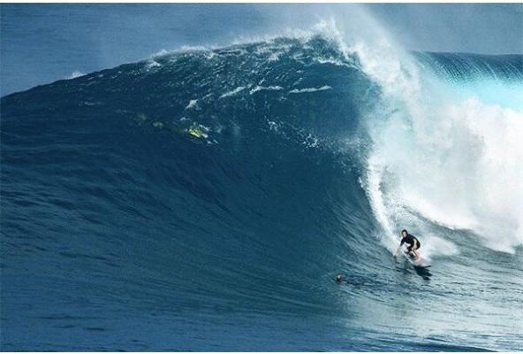 Big wave surfer Torsten Durkan is turning the tide on Coral Bleaching by surfing GIANT waves