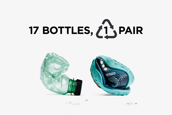 Shoes made from plastic bottles | July