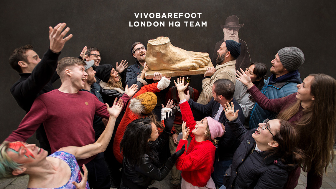 The VIVOBAREFOOT London HQ Team