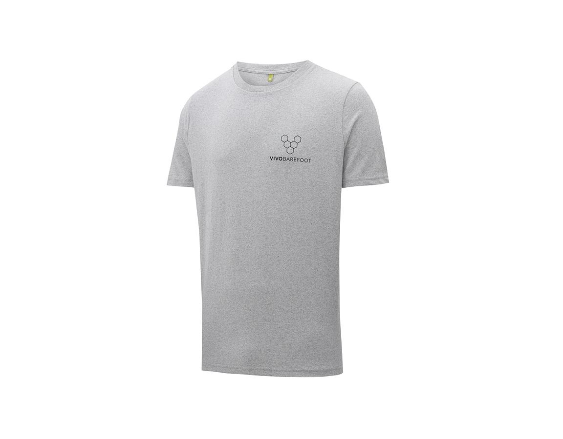 Vivobarefoot Rapanui Naturally Coloured T-shirt Mens - Grey S