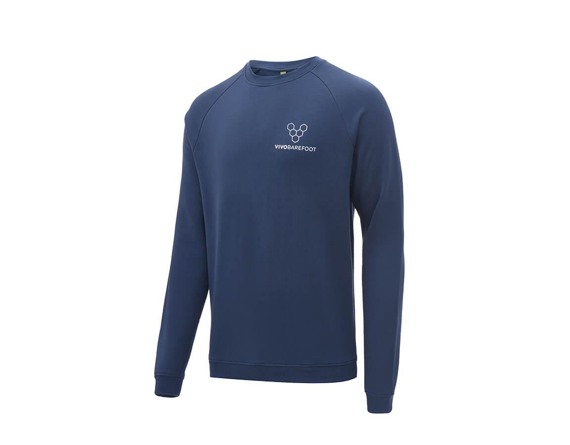 Vivobarefoot Rapanui Sweatshirt Mens - Navy S