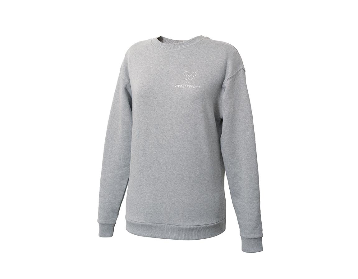 Vivobarefoot Rapanui Sweatshirt Womens - Grey 38
