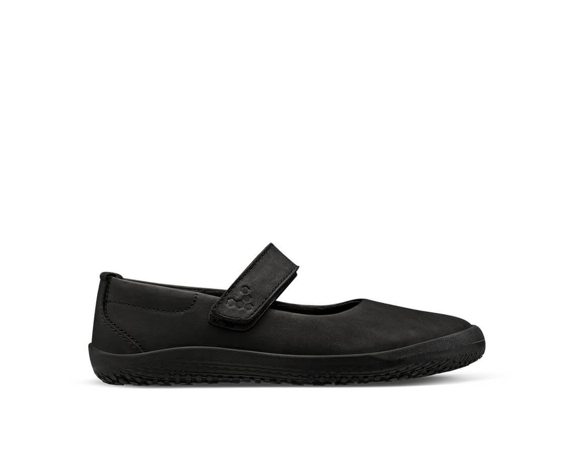 Vivobarefoot Wyn School Kids - Obsidian 25