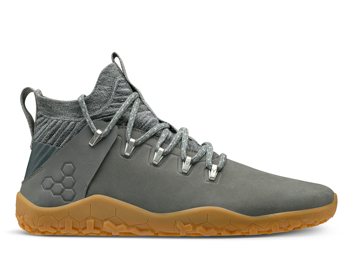 Vivobarefoot Magna Trail Leather & Wool Womens - Graphite 35