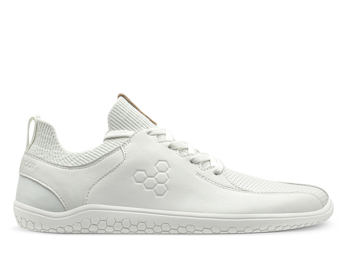 Vivobarefoot Primus Knit Lux Womens - White 35